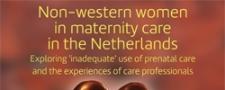 NIVEL: niet-westerse-vrouwen en verloskundige zorg