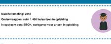 Nederlandse huisartsopleidingen goed beoordeeld